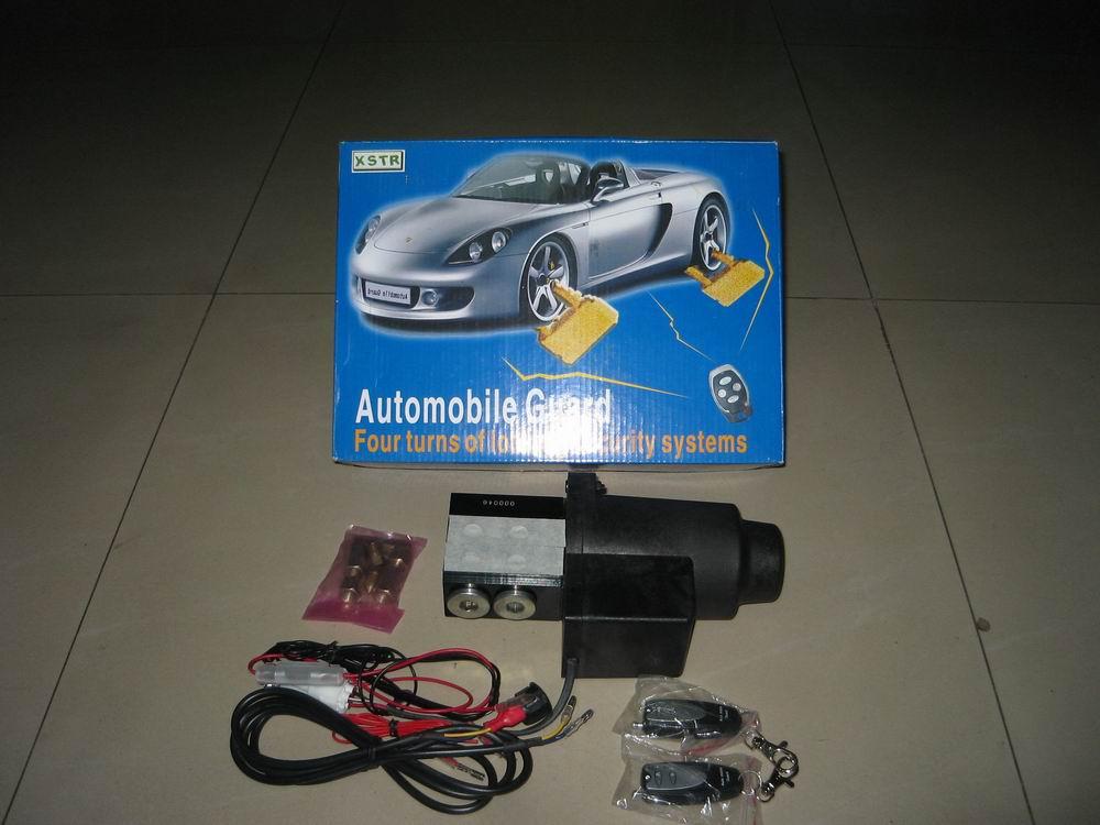 电源独立只接电瓶正负极,有别于电子式防盗需与车身线路连接,易造成线